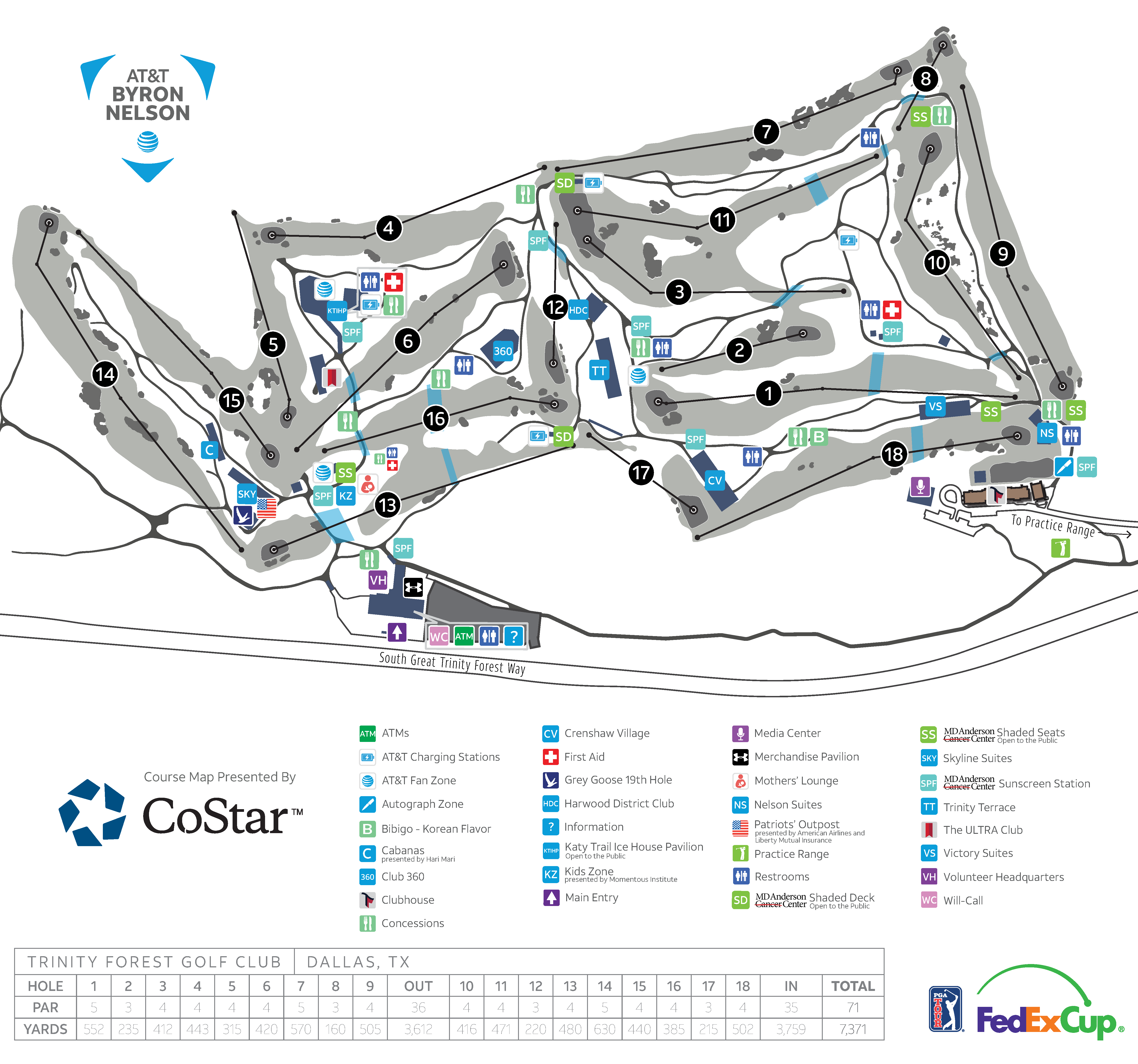 AT&T Byron Nelson | Course Details & Map